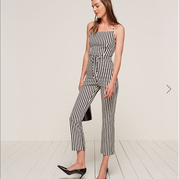 d5cf26a8b41 NWT Rufus Reformation Jumpsuit in Alcatraz